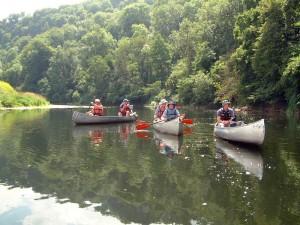 Canoeing the Wye